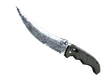 ★ Flip Knife Damascus Steel