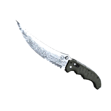 Flip Knife | Damascus Steel