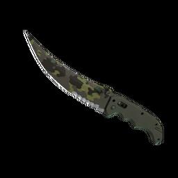 ★ StatTrak™ Flip Knife | Boreal Forest (Well-Worn)