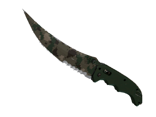 Flip Knife | Forest DDPAT Well-Worn