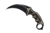 ★ Karambit | Black Laminate (Minimal Wear)