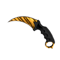 ★ StatTrak™ Karambit | Tiger Tooth <br>(Factory New)