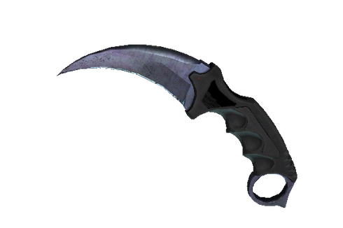★ StatTrak™ Karambit | Blue Steel (Well-Worn) Prices