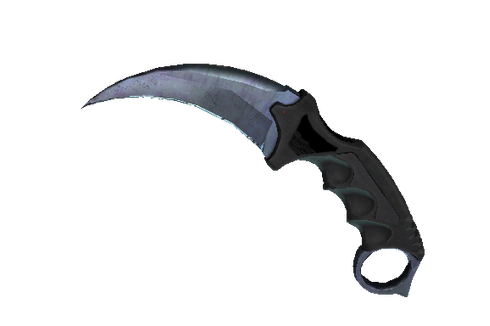 Buy ★ Karambit | Blue Steel (Minimal Wear)
