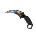 ★ StatTrak™ Karambit | Case Hardened <br>(Well-Worn)