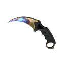 ★ StatTrak™ Karambit | Case Hardened <br>(Factory New)