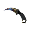 ★ StatTrak™ Karambit | Case Hardened <br>(Battle-Scarred)