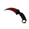 ★ Karambit | Crimson Web <br>(Minimal Wear)