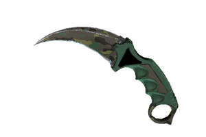 Karambit Boreal Forest Field Tested