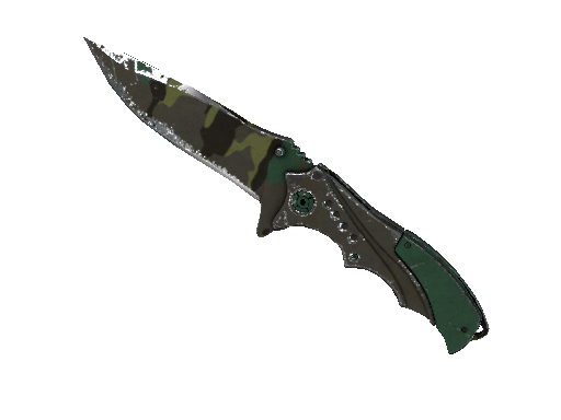 ★ Nomad Knife | Boreal Forest Battle-Scarred