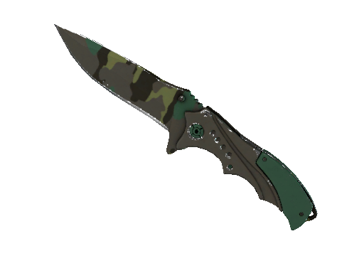 ★ StatTrak™ Nomad Knife | Boreal Forest (Field-Tested)