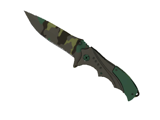 ★ Nomad Knife | Boreal Forest Minimal Wear