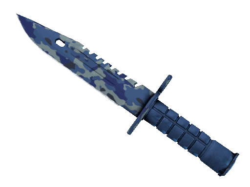 ★ M9 Bayonet | Bright Water (Battle-Scarred)