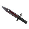 ★ M9 Bayonet | Crimson Web <br>(Battle-Scarred)