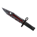 ★ StatTrak™ M9 Bayonet | Crimson Web <br>(Battle-Scarred)