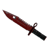 ★ StatTrak™ M9 Bayonet | Crimson Web <br>(Well-Worn)