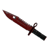 ★ M9 Bayonet | Crimson Web <br>(Well-Worn)