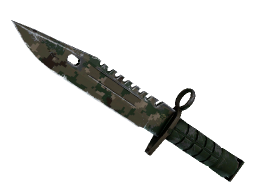 ★ StatTrak™ M9 Bayonet | Forest DDPAT (Well-Worn)