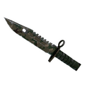 ★ M9 Bayonet | Forest DDPAT <br>(Well-Worn)