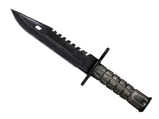 ★ StatTrak™ M9 Bayonet | Black Laminate (Battle-Scarred)
