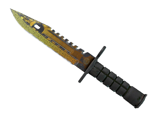 ★ StatTrak™ M9 Bayonet | Lore (Battle-Scarred)