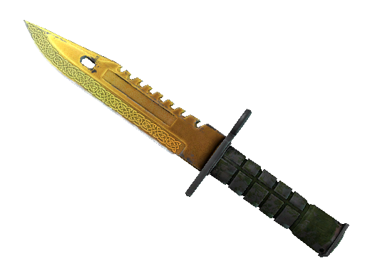 ★ StatTrak™ M9 Bayonet | Lore (Well-Worn)