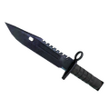 ★ StatTrak™ M9 Bayonet | Blue Steel <br>(Factory New)