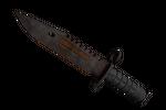 ★ M9 Bayonet | Rust Coat (Battle-Scarred)