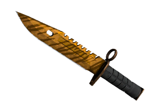 ★ StatTrak™ M9 Bayonet | Tiger Tooth (Factory New) Price