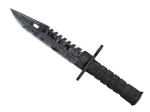 ★ StatTrak™ M9 Bayonet | Freehand (Battle-Scarred)