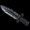 ★ StatTrak™ M9 Bayonet | Night <br>(Battle-Scarred)
