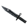 ★ M9 Bayonet | Night <br>(Battle-Scarred)