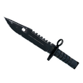 ★ StatTrak™ M9 Bayonet | Night <br>(Well-Worn)