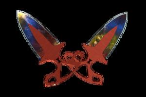 Stattrak Trade Shadow Daggers Marble Fade Minimal Wear