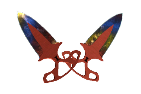 Buy ★ Shadow Daggers | Marble Fade (Minimal Wear)