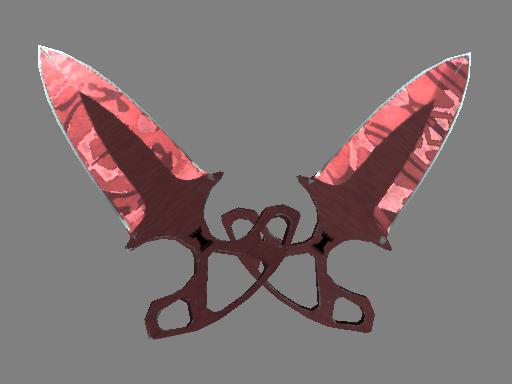 ★ StatTrak™ Shadow Daggers | Slaughter (Field-Tested)