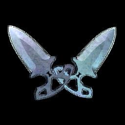 ★ StatTrak™ Shadow Daggers   Blue Steel (Minimal Wear)