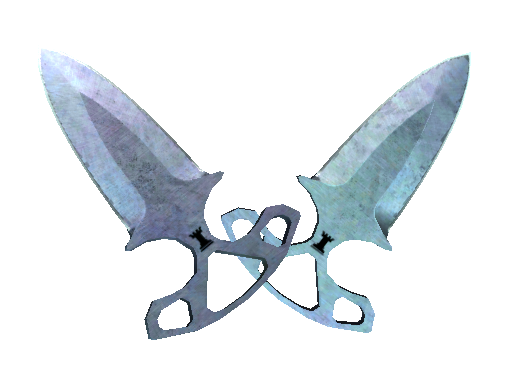 ★ StatTrak™ Shadow Daggers | Blue Steel (Battle-Scarred)