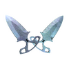 ★ Shadow Daggers | Blue Steel <br>(Factory New)