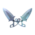 ★ Shadow Daggers | Blue Steel <br>(Factory New)