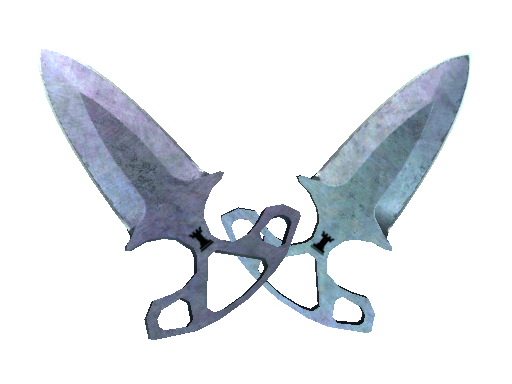 Shadow Daggers | Blue Steel Well-Worn