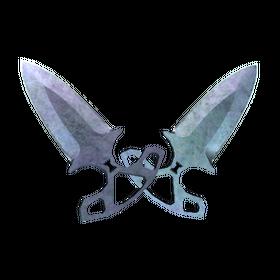 ★ Shadow Daggers | Blue Steel (Field-Tested)