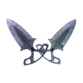 ★ Shadow Daggers | Blue Steel <br>(Battle-Scarred)