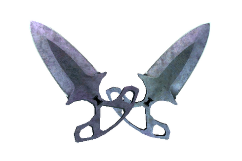 ★ Shadow Daggers | Blue Steel (Battle-Scarred) Prices