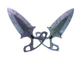 ★ Тычковые ножи | Вороненая сталь, Закаленное в боях, 4032.3$