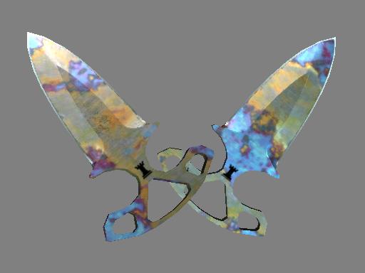 Скин ★ Тычковые ножи | Поверхностная закалка (Прямо с завода)