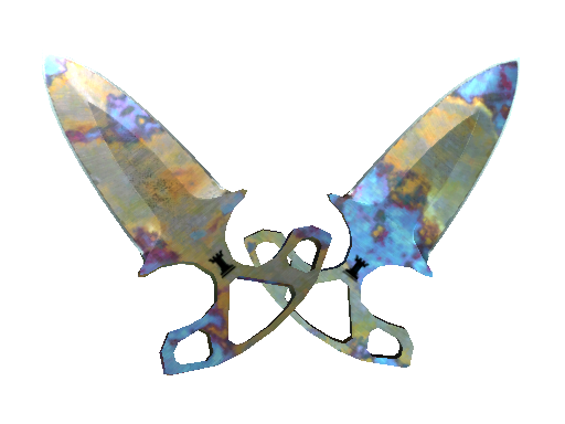 ★ Shadow Daggers | Case Hardened (Minimal Wear)