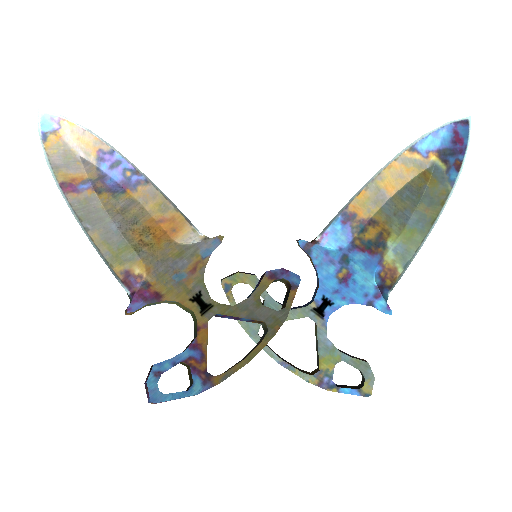 Shadow Daggers | Case Hardened - gocase.pro