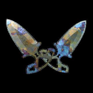 ★ StatTrak™ Shadow Daggers | Case Hardened (Well-Worn)