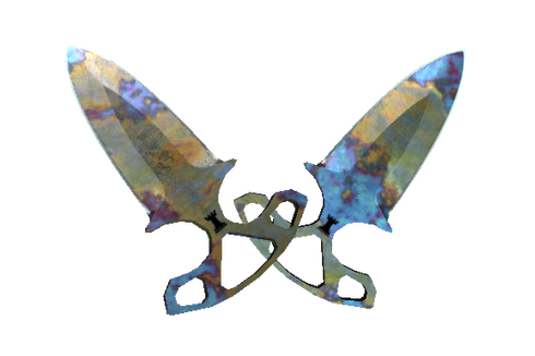 ★ Shadow Daggers | Case Hardened (Field-Tested) Prices